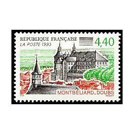 timbre Montbéliard - Doubs (emission de 1993)