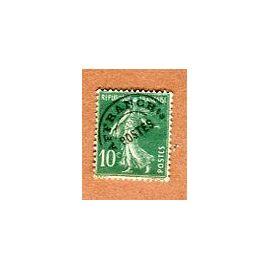 """Timbre Préoblitéré - Type """" Semeuse Camée """" - 10 Cts - Roty / Mouchon - 1925"""