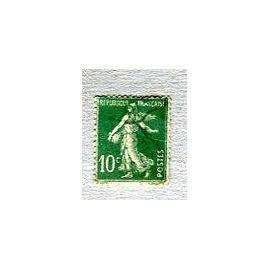 """Timbre Oblitéré - Type """" Semeuse Camée """" - 10 Cts - Roty / Mouchon - 1922"""