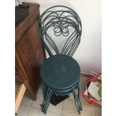Chaise De Jardin Romantique