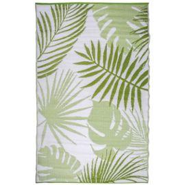 Esschert Design Tapis De Jardin 241x152 Cm Feuilles De Jungle Oc22