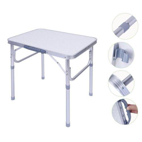 Table De Camping Pliable Pliante En Aluminium Portable Table Pliante Carrée