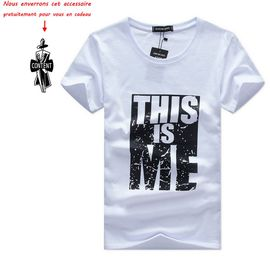 artisanat exquis 100% de satisfaction luxe T shirt Homme à manches courtes Tee shirt Hommes Finitions En Impression  T-shirt Vêtement Masculin