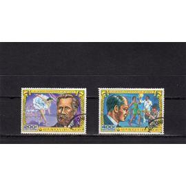 Timbres de poste aérienne des Comores (Grands compositeurs de musique)