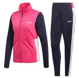 Jogging Femme Adidas Performance Marine Rose Et Blanc