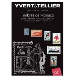 CATALOGUE YVERT & TELLIER TIMBRES MONACO-ANDORRE......