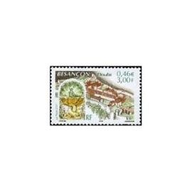 Timbres France 2001 Neuf ** YT N°3387 BESANCON Doubs