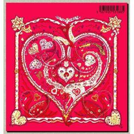 france 2013, très beau bloc feuillet neuf** luxe yvert 4717, pour la saint valentin, de tout coeur par hermès, 5 timbres coeur, 4719 4720 4721 4722 4722A.
