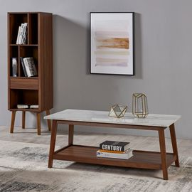 Versanora - Table basse de salon en bois moderne mi-siècle Kingston  VNF-00061