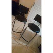 2 Tabouret Table Haute Ikea