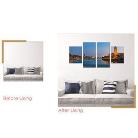 Oeuvre D Art Moderne Toile Des Peintures Murales Décoratives Orchid Rock Print 40 60 Cm