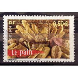 La France à Vivre - Pain 0,50€ (Très Joli n° 3649) Obl - France Année 2004 - N25151