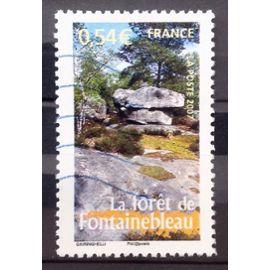 La France à Voir - Forêt de Fontainebleau 0,54€ (Très Joli n° 4016) Oblitération Très Légère / Propre / Bleue - France Année 2007 - N25153