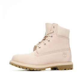 timberland femme rose et blanche