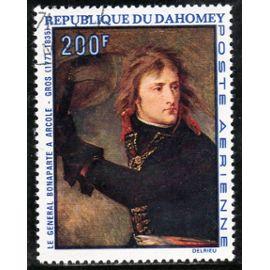 Timbre de poste aérienne du Dahomey (Bicentenaire de la naissance de Napoléon Bonaparte)