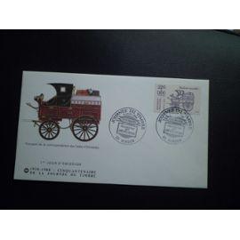 Enveloppe 1er jour 50 ans anniversaire de la Journée du timbre 1988 Verdun
