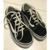 vans noire 34