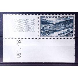Vallée de la Meuse 40f (Superbe n° 842A) Neuf** Luxe (= Sans Trace de Charnière) Avec Coin Daté - Cote 18,50€ - France Année 1949 - N22035
