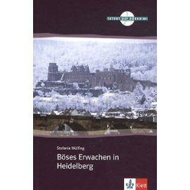 Böses Erwachen In Heidelberg - A2+B1 (1 Cd Audio) - Wülfing Stefanie
