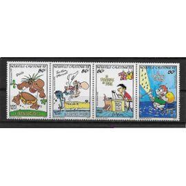"""Nouvelle-Calédonie 1992 : """"La brousse en folie"""" : Dessins humoristiques : Personnages de l"""