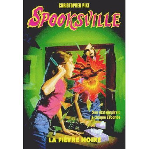 Couverture de Spookville t.20 fievre noire