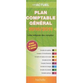 Plan Comptable Général - Liste Intégrale Des Comptes - Hachette Null
