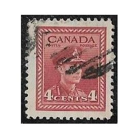 Timbre du Canada N°209 Y & T 4 c. carmin propagande pour l