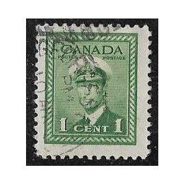 Timbre du Canada N°205 Y & T 1 c. vert propagande pour l