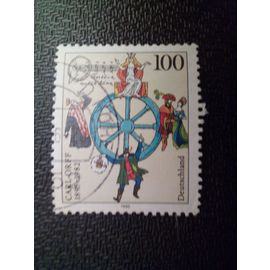 timbre ALLEMAGNE FEDERALE YT 1638 Personnages d