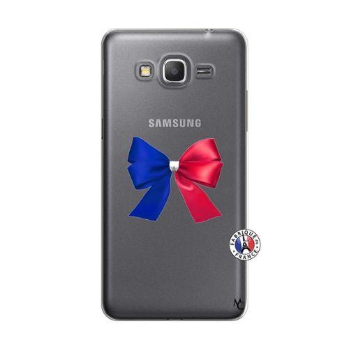 Coque pour Samsung Galaxy Grand Prime motif Allez Les Bleues