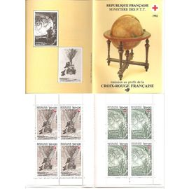 CR 2031 (1982) Carnet Croix-Rouge 2247 - 2248 Jules Verne N** (cote 11e)