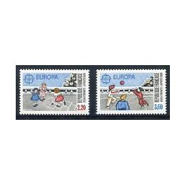 Timbres France 1989 DUO Neuf ** YT N° 2584-2585