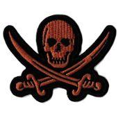 Ecusson patche pirate drapeau pirates thermocollant patch transfert