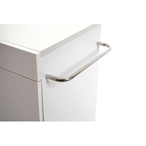 Meuble Sous Vasque Avec Compartiment De Rangement Meuble Sous Evier Hwc D55 Salle De Bain Gris Meubles Sur Pied Meubles De Rangement