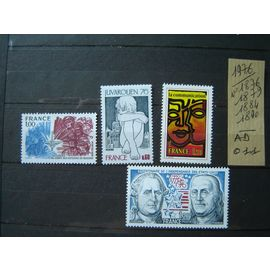 AD 011 / FRANCE LOT TIMBRES NEUFS 1976*1876/79/84/1890