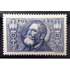 Jean Jaurès 1f50 outremer (Superbe n° 319) Neuf* - Cote 15,00€ - France Année 1936 - N10596