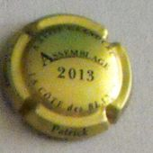 Capsule de Champagne n°9e Assemblage 2010 SCHLESSER Patrick