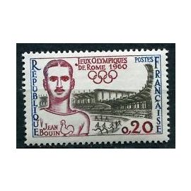 Timbres France 1960 Neuf ** YT N° 1265 J.O. de ROME
