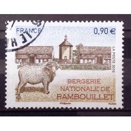 Bergerie Nationale de Rambouillet 0,90€ (Très Joli n° 4444) Obl - France Année 2010 - N25047