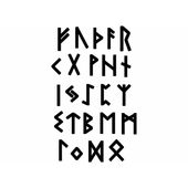 sticker Autocollant gommette langue arabe alphabet  r1