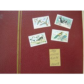 AD 118 /LOT TIMBRES NEUFS FRANCE 1960* N°1273 à 1276