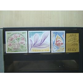 AD 126 / LOT TIMBRES NEUFS FRANCE 1977*N° 1930/31/34