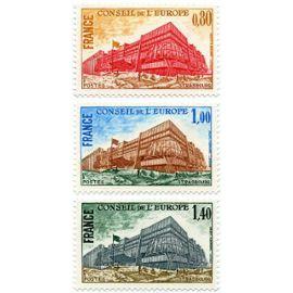 france 1977, très belle série neuve** luxe timbres de service du conseil de l