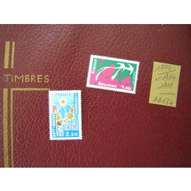 AD 134 / LOT TIMBRES NEUFS FRANCE 1977 / N°1914/1918