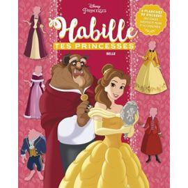 Belle - 6 Planches De Stickers, Des Tenues Inédites Et Plein D'accessoires ! - Disney Null