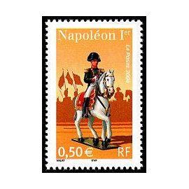 timbre napoléon 1er et la Garde Impériale (emission de 2004)