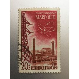TIMBRE FRANCE (YT 1204 ) 1959 Marcoule