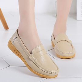 Solid Casual Lady Color Chaussures Plates Mode Jestine Antidérapantes Pois Retro TFlJc1K