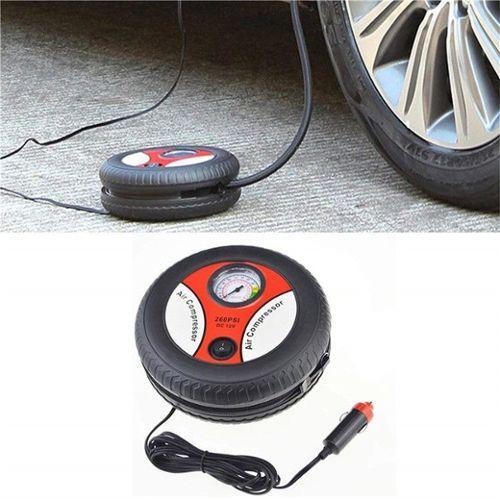 Argent Gorgeri 12V Jauge de Pression de Pneu de voiture,Pompe de Bicyclette de Voiture Portative /électrique,Compresseur dair Automatique Dalliage Daluminium