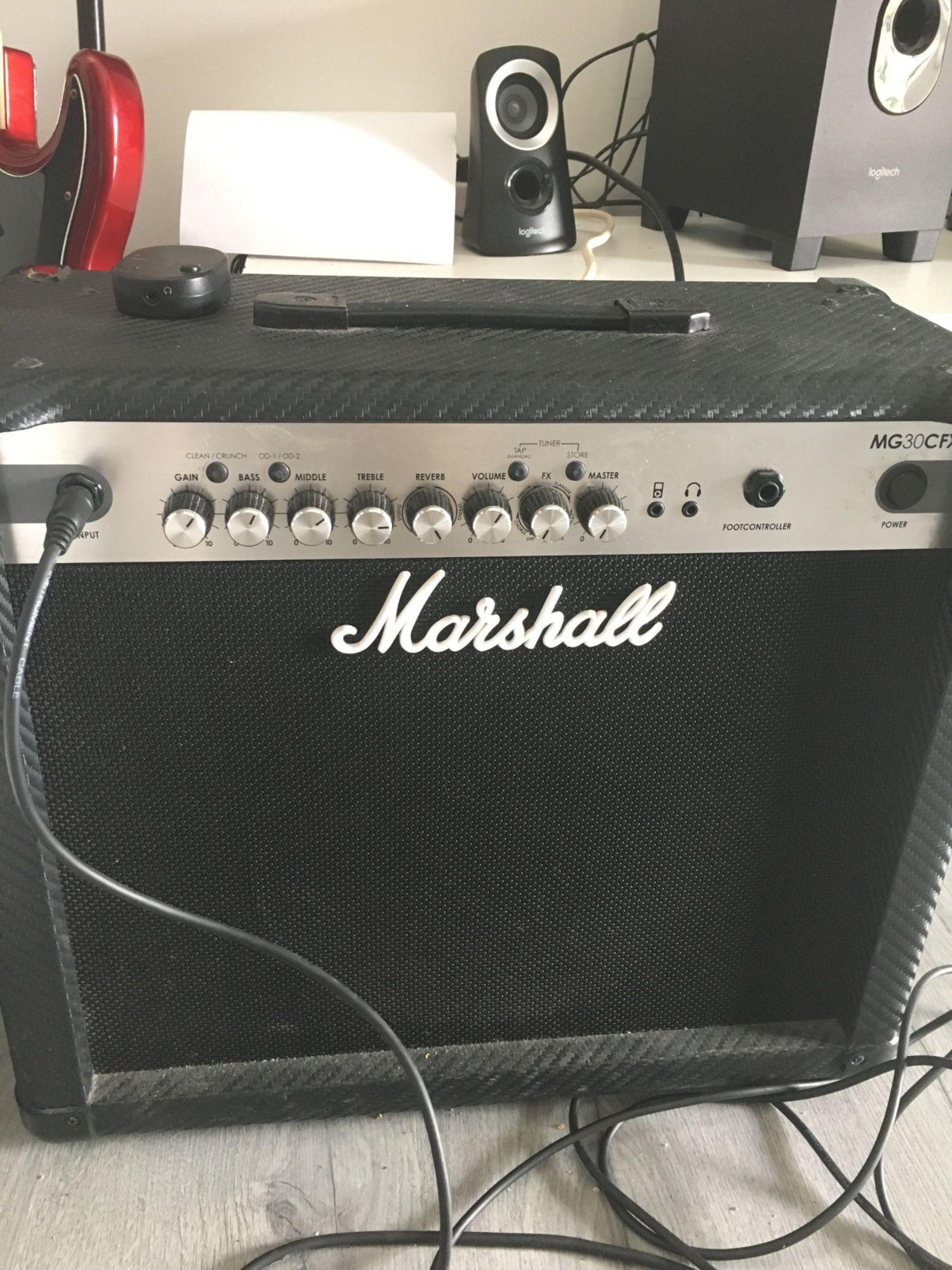 Vente Marshall Marshall Mg30fx